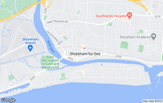 Map for Osborn Humphreys, Shoreham by Sea