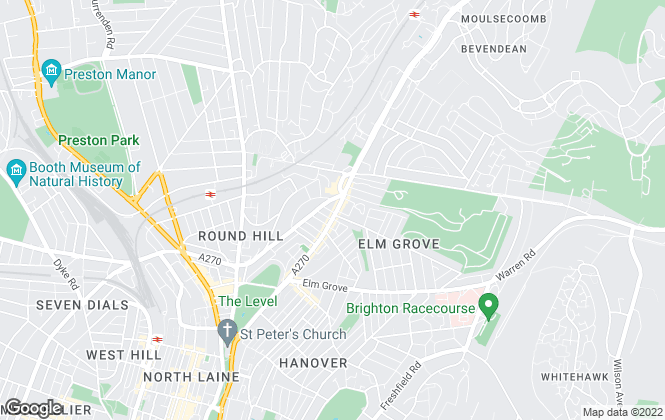 Map for Brighton Accommodation Agency, Brighton