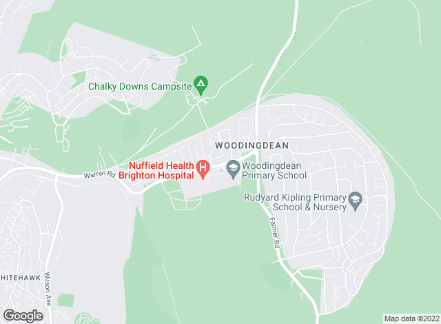 Map for Cubitt & West, Woodingdean