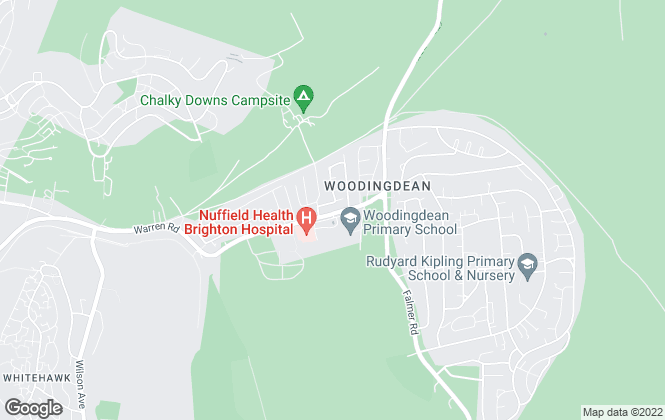 Map for Cubitt & West, Woodingdean