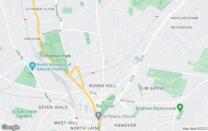 Map for Avard Estate Agents, Brighton