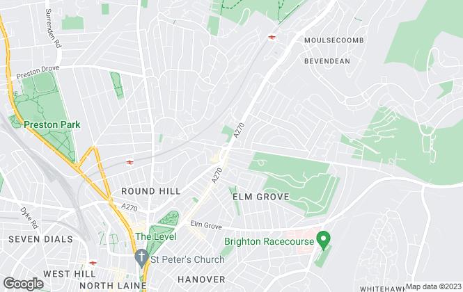 Map for Coapt, Brighton