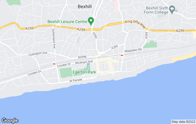 Map for Ark Residential, Bexhill On Sea