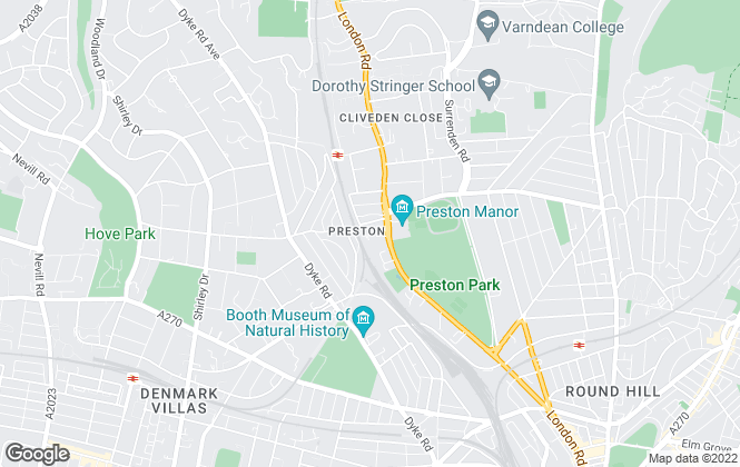 Map for Choices, Brighton