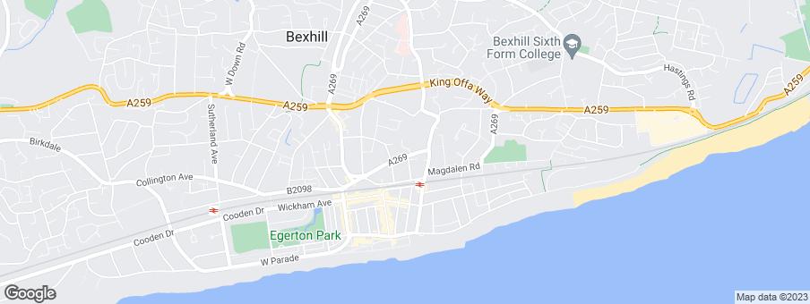 Map for Orbit Homes