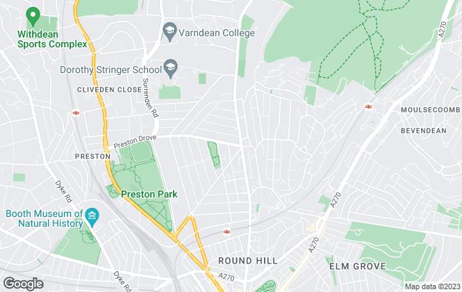 Map for Cubitt & West, Brighton
