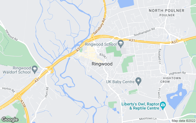 Map for Connells, Ringwood
