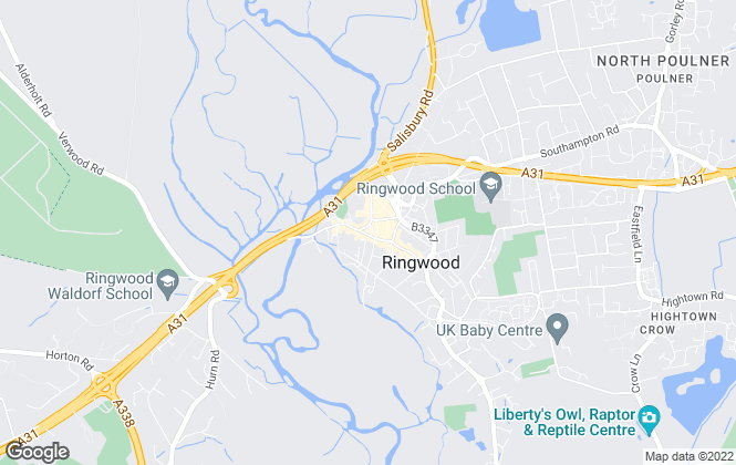Map for Martin & Co, Ringwood