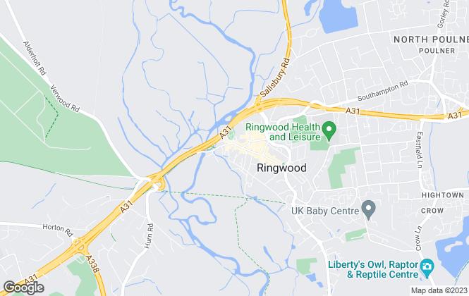 Map for Austin & Wyatt, Ringwood