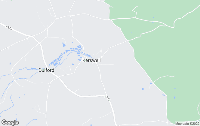 Map for Dunford-Brown Residential, Powered by Keller Williams, Cullompton