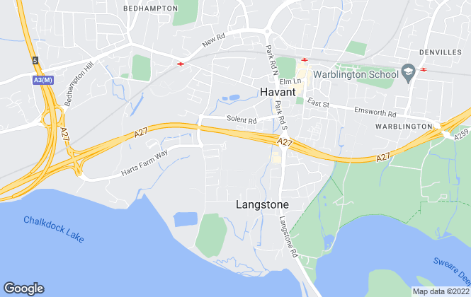 Map for Newman & Sale, Bedhampton