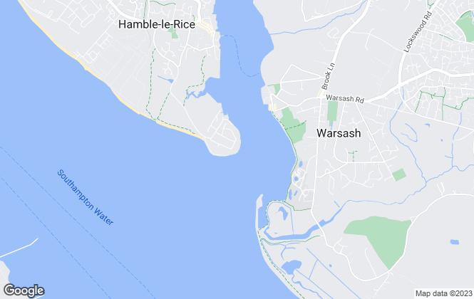 Map for Marina Developments Limited, Hamble