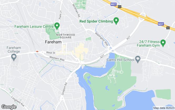 Map for Leaders, Fareham