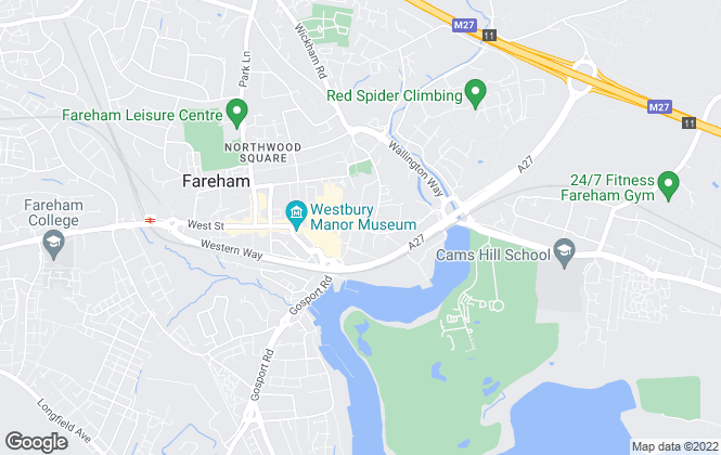 Map for Pearsons, Fareham - Lettings