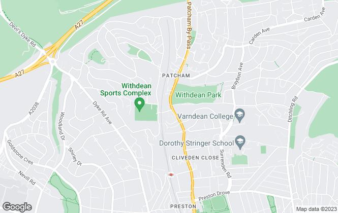 Map for L J Barling, Brighton