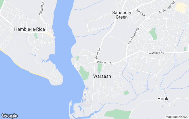 Map for Brambles Estate Agents , Warsash