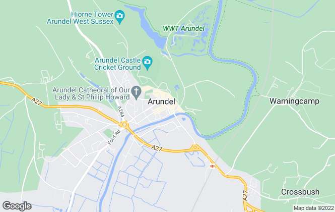 Map for Sims Williams, Arundel