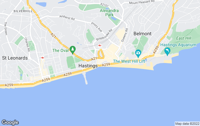 Map for HAS Property Management, Hastings
