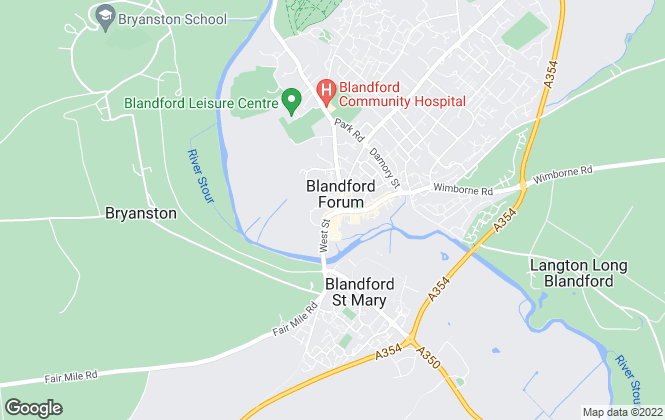 Map for Symonds & Sampson, Blandford