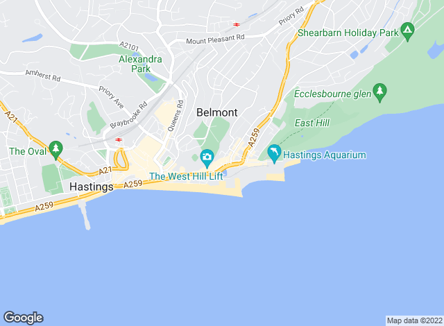 Map for Just Property , Hastings - Country