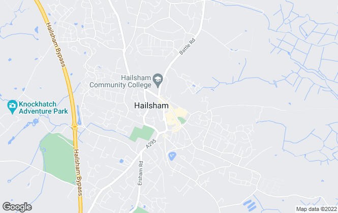 Map for HartColeman Estate Agents, Hailsham