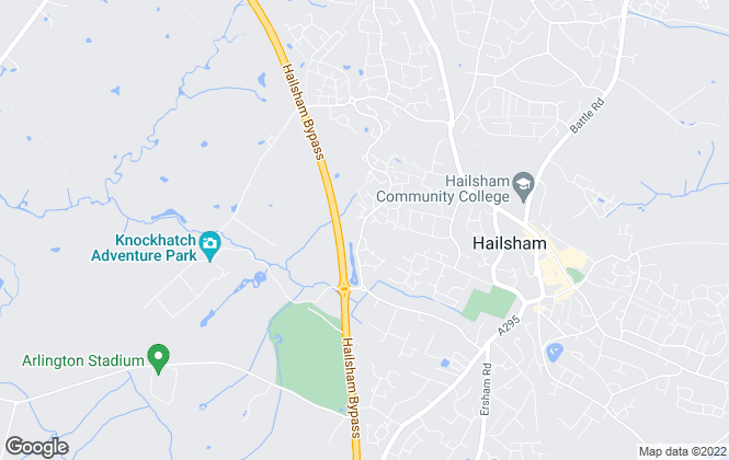 Map for Angela Marden Estate Agents, Hailsham