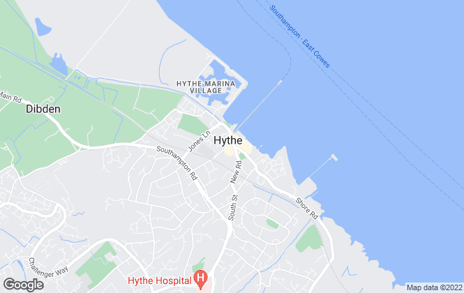 Map for Paul Jeffreys, Hythe