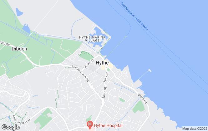 Map for Paul Jeffreys, Hythe