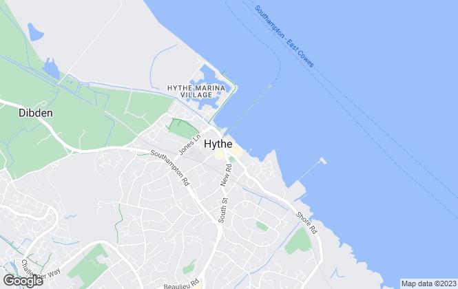 Map for Morris Dibben, Hythe