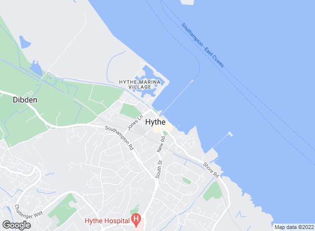 Map for Hythe & Waterside Estate Agents, Southampton