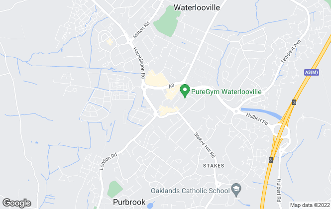 Map for Pearsons, Waterlooville