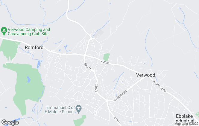 Map for Edwards , Verwood