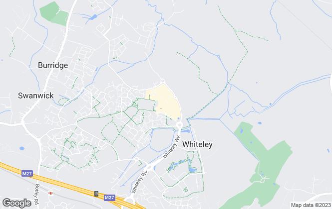 Map for Walker & Waterer, Whiteley - Lettings