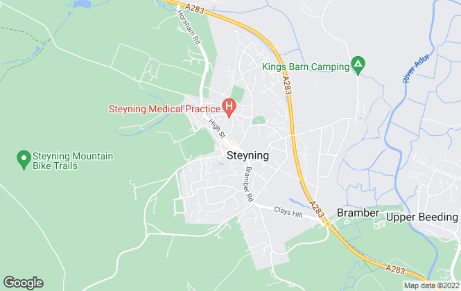 Map for King & Chasemore, Steyning