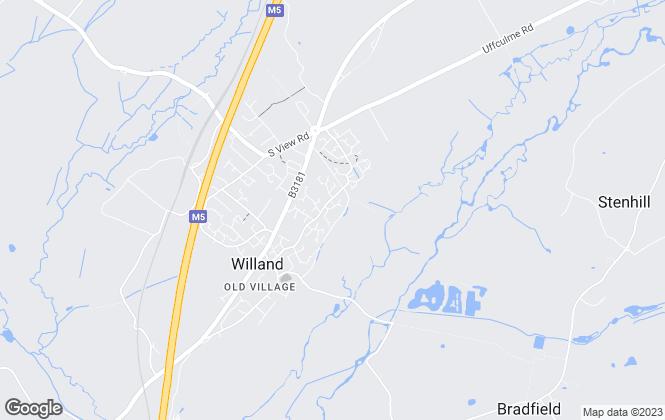 Map for Homeweb, Devon