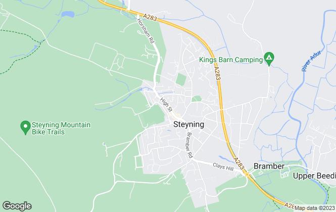 Map for Middleton Estates, Steyning