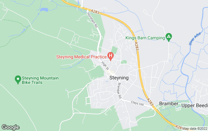 Map for H J  Burt & Son, Steyning