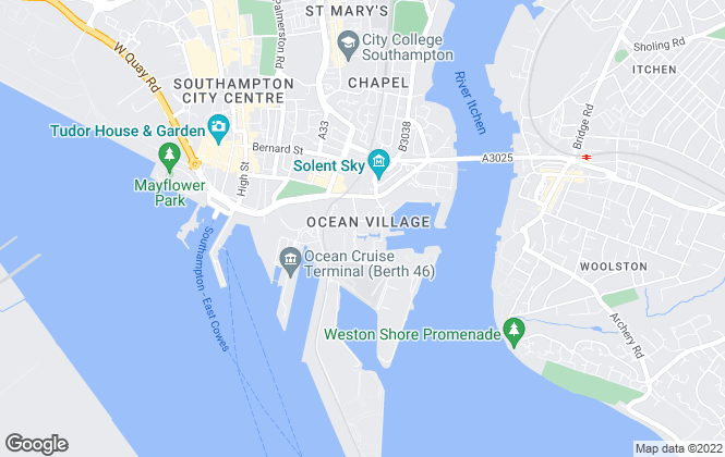 Map for Vail Williams, Southampton