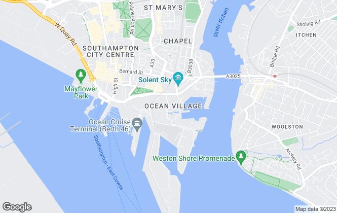 Map for CBRE Southampton, CBRE Southampton