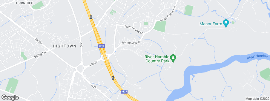 Map for Bellway Homes (Wessex)