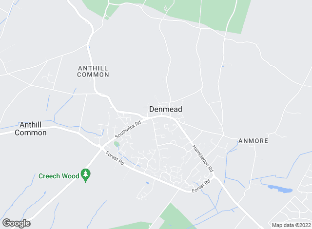 Map for Taylor Garnier, Denmead