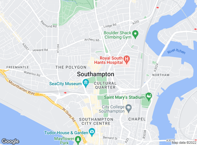Map for Clear Residential Lettings, Southampton