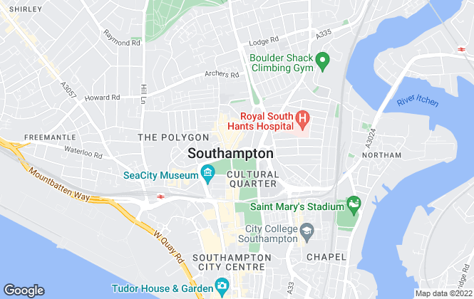 Map for Clear Residential, Southampton