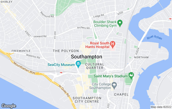 Map for Leaders, Southampton