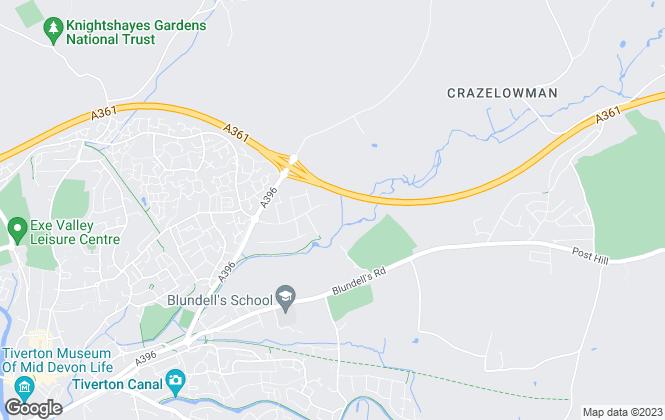Map for 4 Property Matters Ltd, Devon