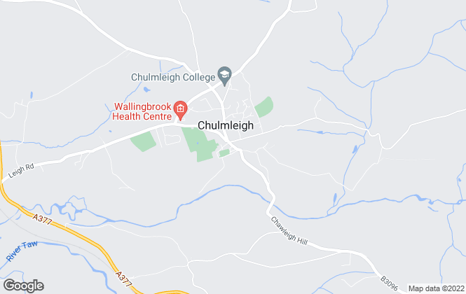 Map for The Keenor Estate Agent, Chulmleigh