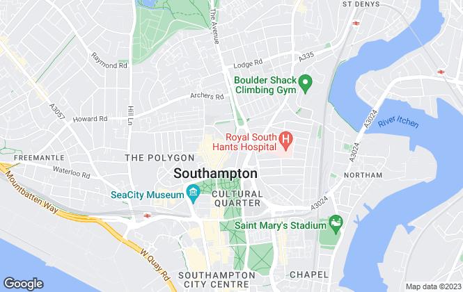 Map for Century21 Southampton, Southampton