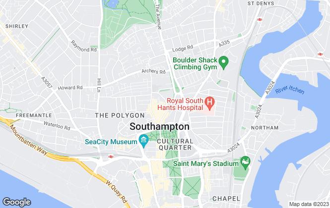 Map for Newton Scott, Southampton
