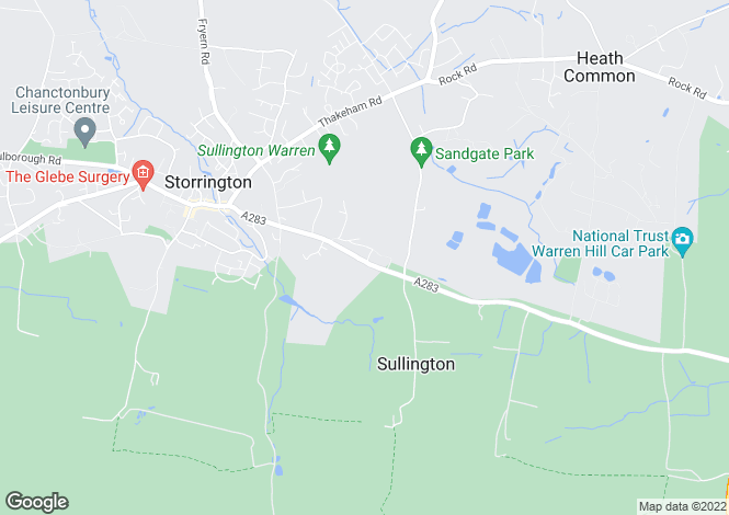 Map for Storrington