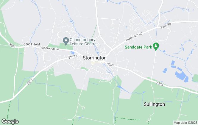 Map for King & Chasemore, Storrington